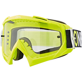 O'Neal B-10 Lunettes de protection, twoface hi-viz-clear